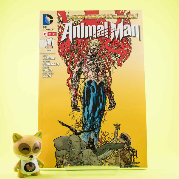 Cómic Animal Man 1 de ECC | Wash Cómics