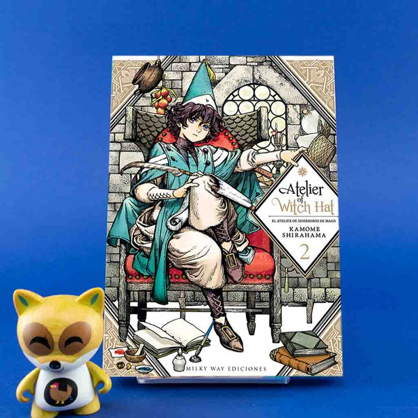Atelier of Witch Hat Vol. 2 | Manga | Wash Cómics