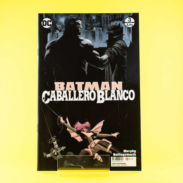 Cómic Batman Caballero Blanco 3/8 de ECC | Wash Cómics