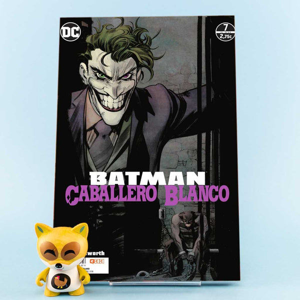 Cómic Batman Caballero Blanco 7/8 de ECC | Wash Cómics