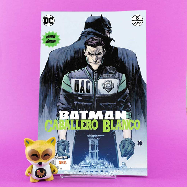 Cómic Batman Caballero Blanco 8/8 de ECC | Wash Cómics