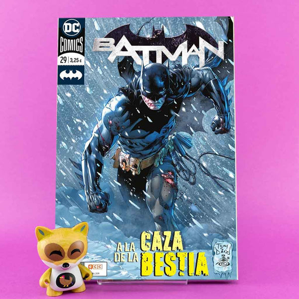 Cómic Batman 84/29 de ECC | Wash Cómics