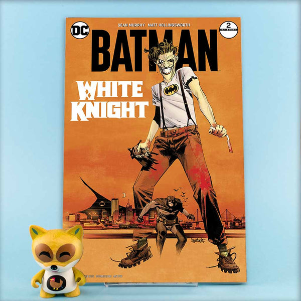 BATMAN WHITE KNIGHT #2 (OF 8) VAR ED | Previews · Variant Covers | Wash Cómics