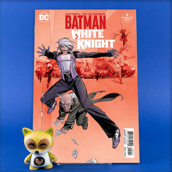 BATMAN WHITE KNIGHT #4 (OF 8) 2ND PTG | Previews · Variant Covers | Wash Cómics