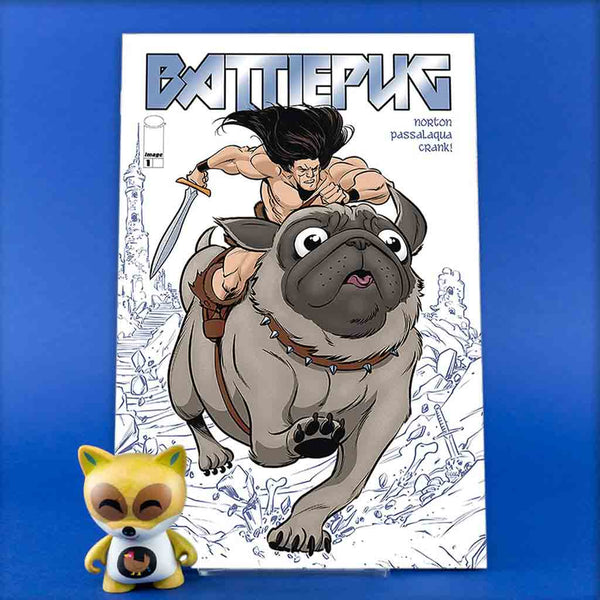 BATTLEPUG #1 CVR A NORTON & PASSALAQUA | Previews | Wash Cómics