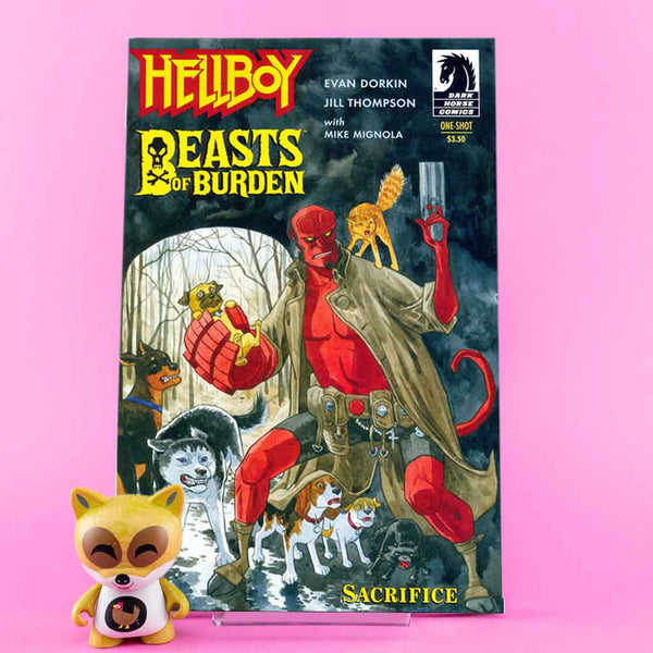 BEASTS OF BURDEN / HELLBOY SACRIFICE | Previews · One Shoot Issues | Wash Cómics