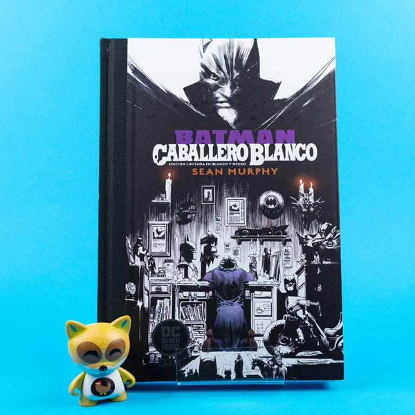 Cómic Batman: Caballero Blanco - Ed. limitada DC Black Label de ECC | Wash Cómics
