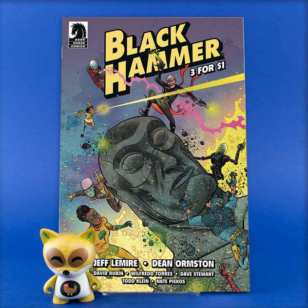 BLACK HAMMER 3 FOR $1 | Previews · One Shoot Issues | Wash Cómics