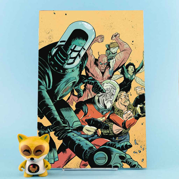 Cómic Black Hammer: Age of Doom #9 | Sanford Greene Cover de SD DISTRIBUCIONES | Wash Cómics