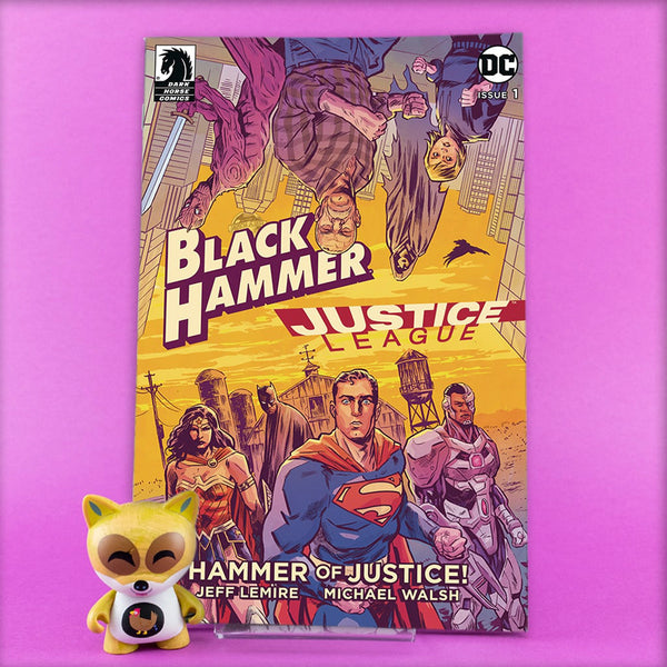 BLACK HAMMER JUSTICE LEAGUE #1 - #5 | Previews · Series Completas | Wash Cómics