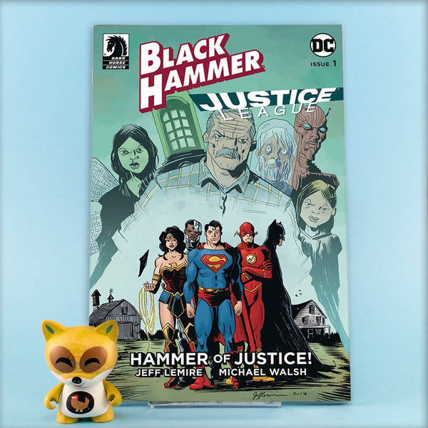 BLACK HAMMER JUSTICE LEAGUE #1 - #5 | VARIANT COVERS | Previews | Wash Cómics