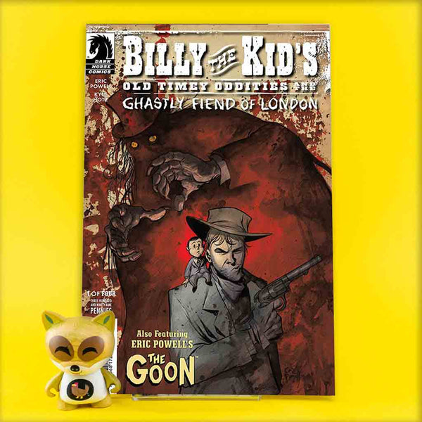 Billy the Kid's Old Timey Oddities and the Ghastly Fiend of London #1 - #4 | Previews · Series Completas | Wash Cómics