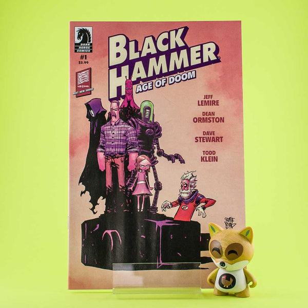 Black Hammer Age of Doom #1 - #5 | VAR COVER | Previews · Series Completas | Wash Cómics