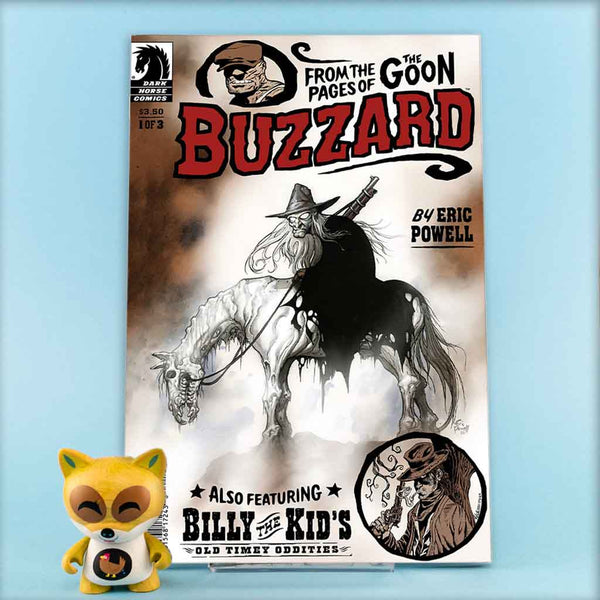 BUZZARD #1 - #3 | Previews · Series Completas | Wash Cómics