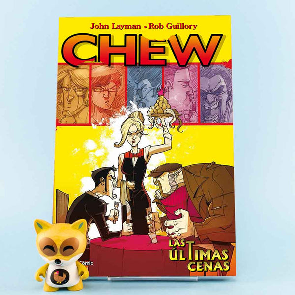 Cómic Chew 11: Lás últimas cenas de PLANETA | Wash Cómics