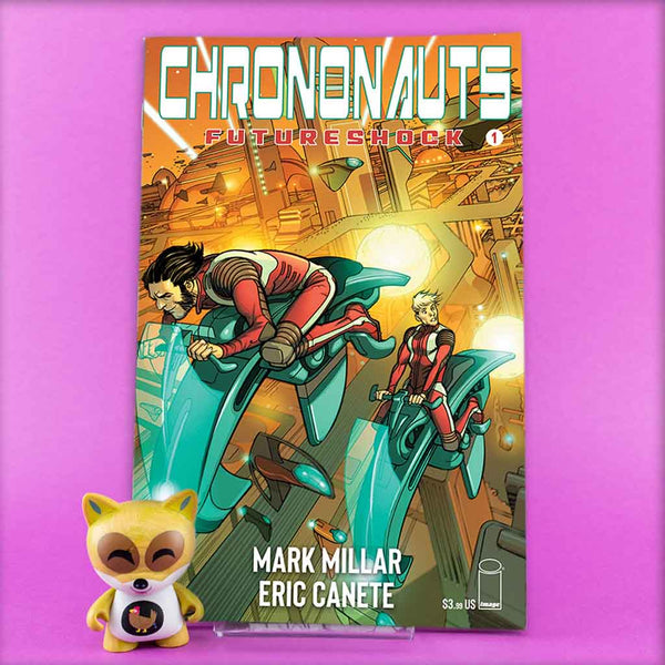 CHRONONAUTS FUTURESHOCK #1- #4 | Previews · Series Completas | Wash Cómics