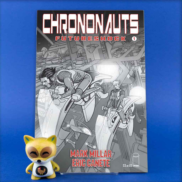 CHRONONAUTS FUTURESHOCK #1 (OF 4) CVR B FERRY | Previews · Variant Covers | Wash Cómics