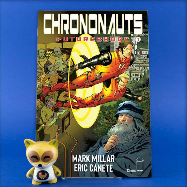 CHRONONAUTS FUTURESHOCK #1 (OF 4) CVR E NOWLAN | Previews · Variant Covers | Wash Cómics