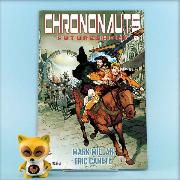 CHRONONAUTS FUTURESHOCK #1 (OF 4) CVR G MACUTAY | Previews | Wash Cómics