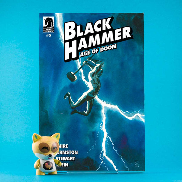 Black Hammer: Age of Doom #5 | Fabio Moon Cover B | Previews · Variant Covers | Wash Cómics