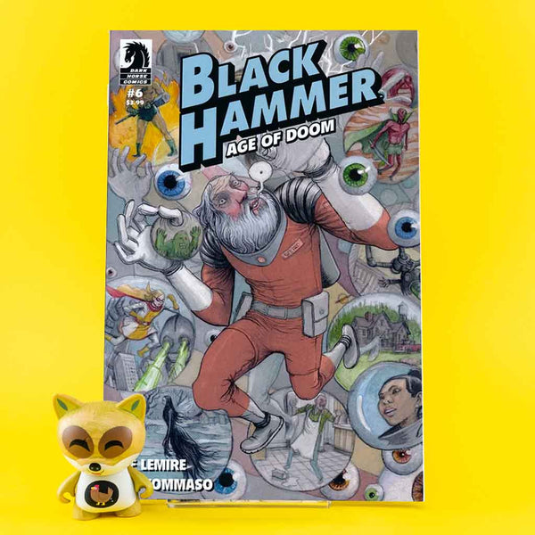 Black Hammer: Age of Doom #6 | Farel Dalrymple Cover | Previews | Wash Cómics