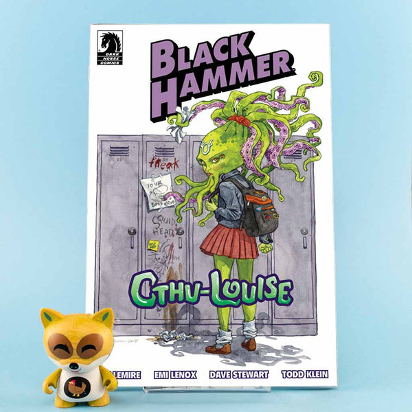 Black Hammer Cthu-Louise | Jill Thompson Cover | Previews · One Shoot Issues | Wash Cómics