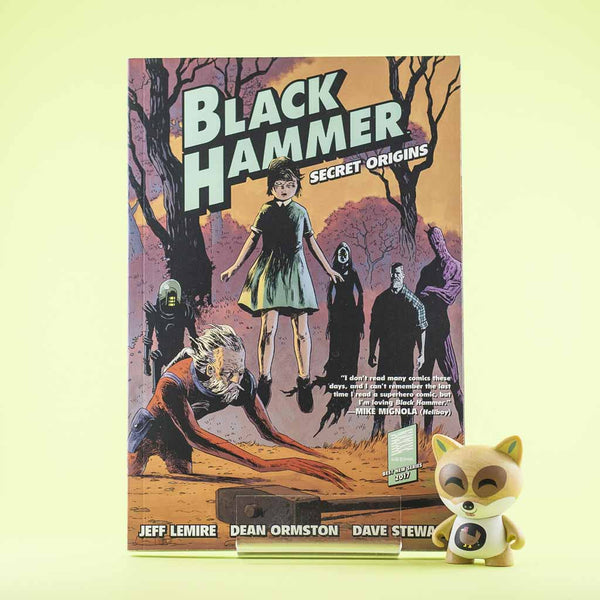 BLACK HAMMER TP VOL 01 SECRET ORIGINS | Previews · Tomos | Wash Cómics