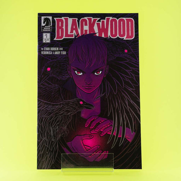 BlackWood #1 - #4 | VAR COVER | Previews · Series Completas | Wash Cómics