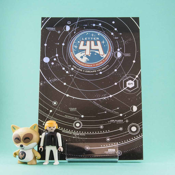 Cómic Letter 44 Vol. 1: Escape Velocity | Cómic en inglés de Oni Press | Wash Cómics
