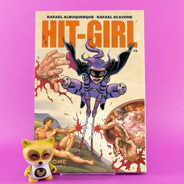 Hit-Girl #10 | Chris Burnham Cover C | Previews | Wash Cómics