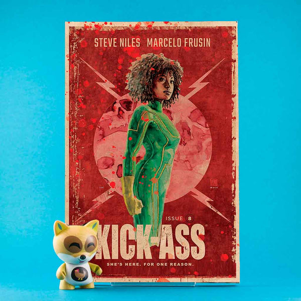 Kick-Ass #8 | Cover C David Mack | Previews | Tienda online comics | Wash Cómics