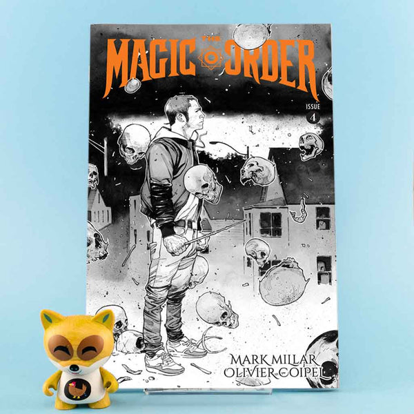 Cómic The Magic Order #4 of 6 | Variant Cover de SD DISTRIBUCIONES | Wash Cómics