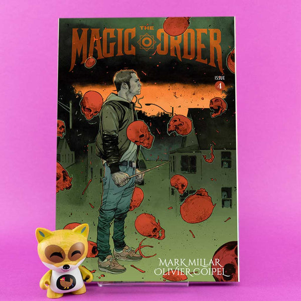 Magic Order #4 of 6 | Previews | Wash Cómics