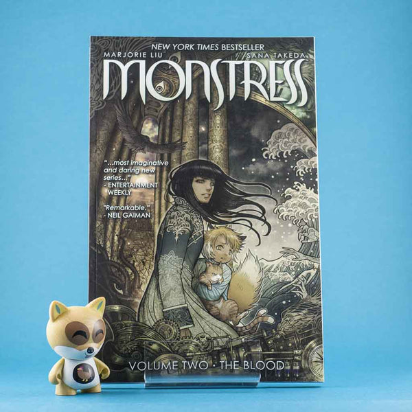 Monstress Vol. 2: The Blood | Previews · Tomos | Wash Cómics