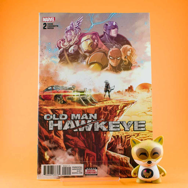 Old Man Hawkeye #2 of 12 | Previews | Wash Cómics