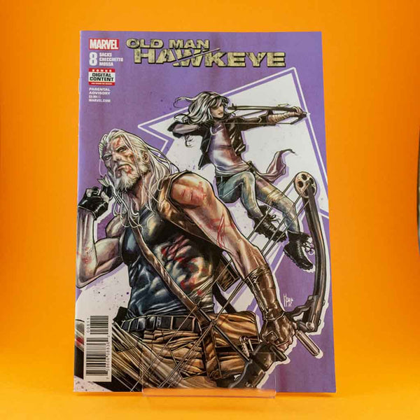 Cómic Oldman Hawkeye #8 of 12 de SD DISTRIBUCIONES | Wash Cómics