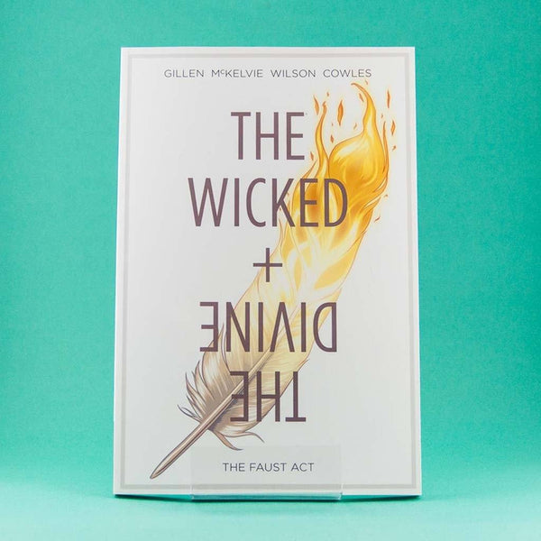 Cómic The Wicked + The Divine Vol. 1 The Faust Act | Cómic en Inglés de Image | Wash Cómics