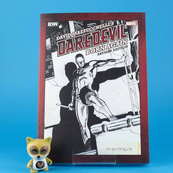 DAVID MAZZUCHELLIS DAREDEVIL BORN AGAIN ARTISAN ED TP | Previews · Tomos | Wash Cómics