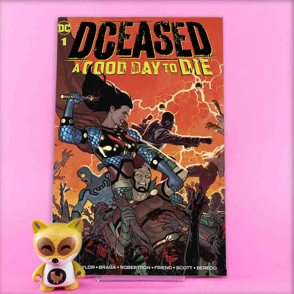 DCEASED A GOOD DAY TO DIE #1 | Previews · Regular Covers | Wash Cómics
