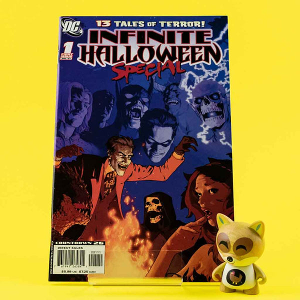 DC INFINITE HALLOWEEN SPECIAL #1 | Previews · One Shoot Issues | Wash Cómics