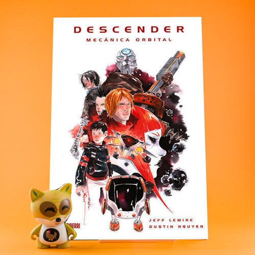 Cómic Descender 4 | Mecánica orbital de AZETA DISTRIBUCIONES | Wash Cómics