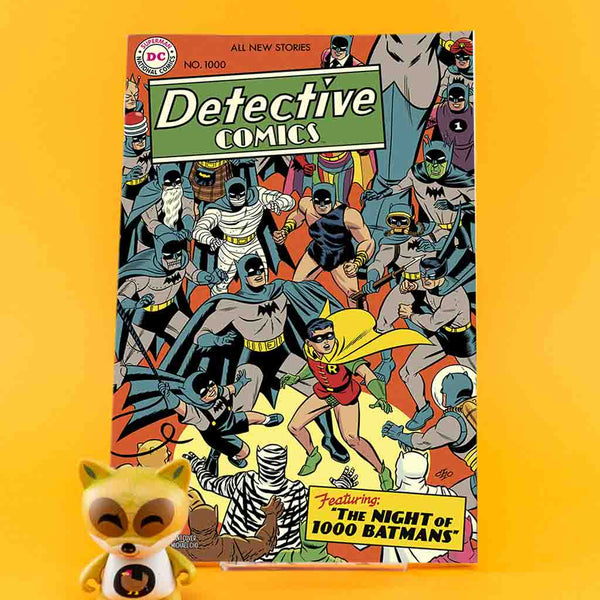 Detective Comics #1000 | 1950s Variant Cover | Previews · One Shoot Issues | Wash Cómics
