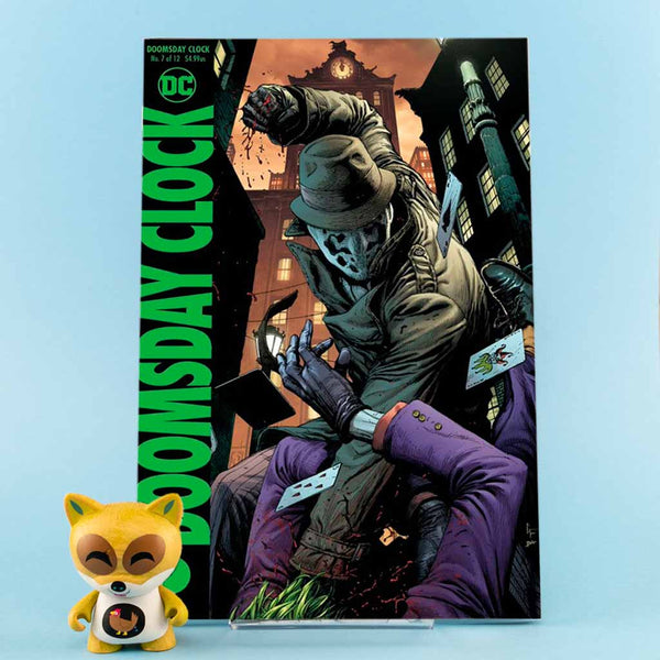DOOMSDAY CLOCK #7 (OF 12) VAR ED | Previews · Variant Covers | Wash Cómics