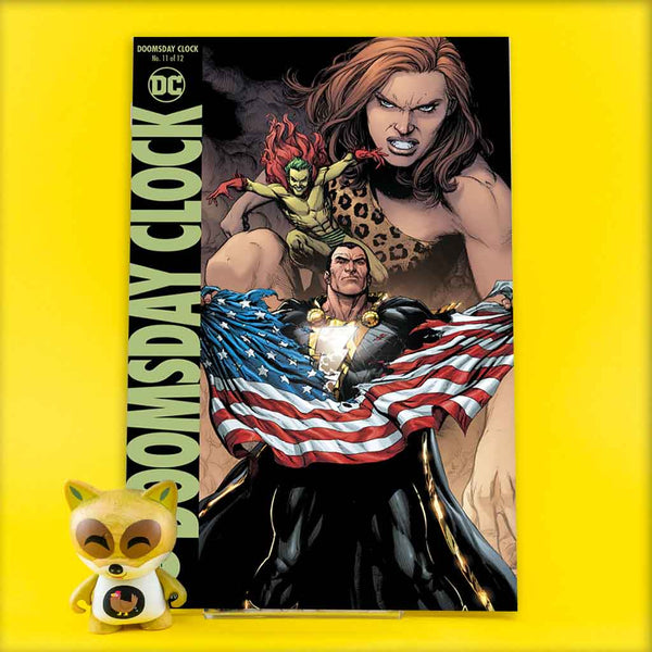 DOOMSDAY CLOCK #11 (OF 12) VAR ED | Previews · Variant Covers | Wash Cómics