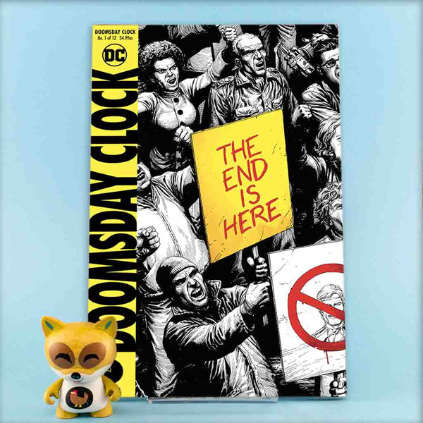 DOOMSDAY CLOCK #1 - #12 | VAR COVERS | Previews · Series Completas | Wash Cómics