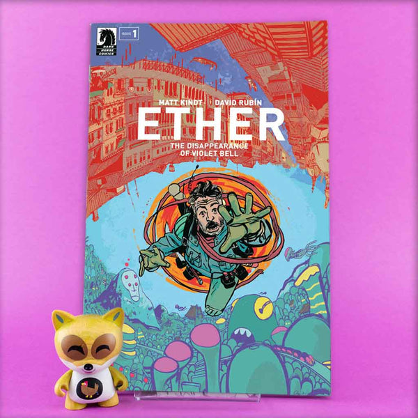 ETHER DISAPPEARANCE OF VIOLET BELL #1 - #5 | VARIANT COVER | Previews · Series Completas | Wash Cómics
