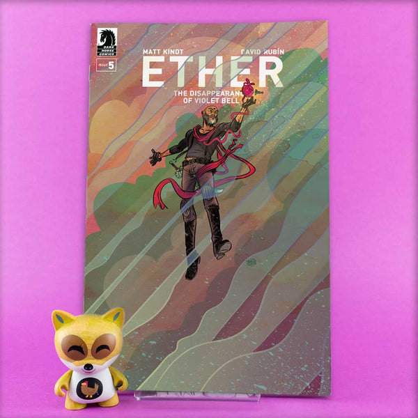 ETHER DISAPPEARANCE OF VIOLET BELL #1 - #5 | Previews · Series Completas | Wash Cómics
