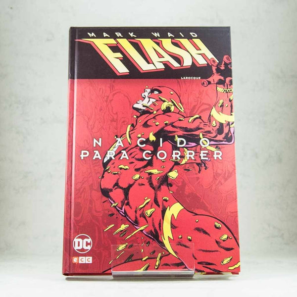 Cómic Flash: Nacido para correr de ECC | Wash Cómics
