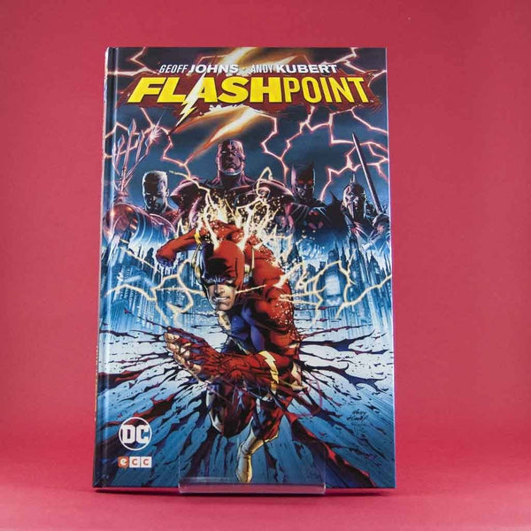 Cómic FlashPoint de ECC | Wash Cómics