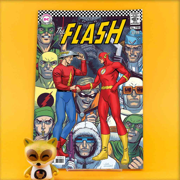 FLASH #750 1960S NICK DERINGTON VAR ED | Previews · One Shoot Issues | Wash Cómics